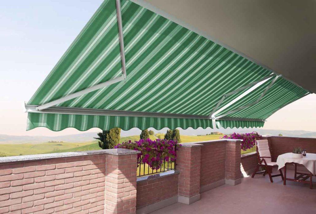 Tende da sole per esterni balconi e terrazzi metroarredo for Tende da sole velux