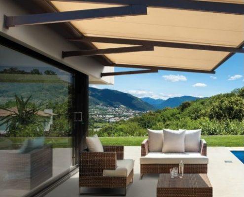 Stunning Pergola Per Terrazzo Contemporary - Idee Arredamento Casa ...